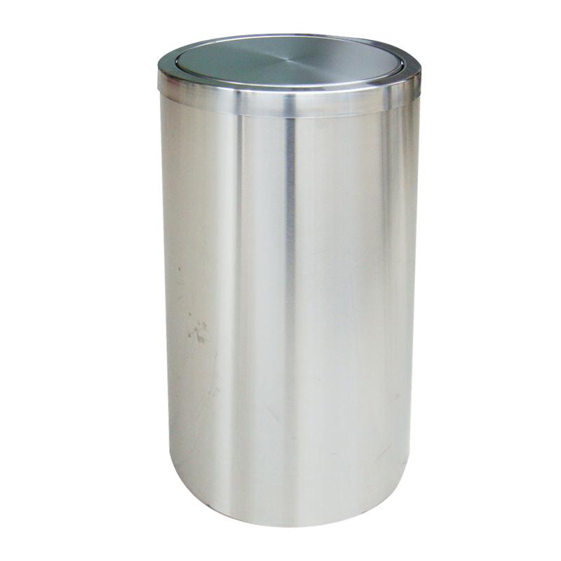 thùng rác thép phun sơn nắp lật A35-F