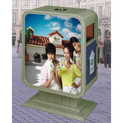 thùng rác quảng cáo