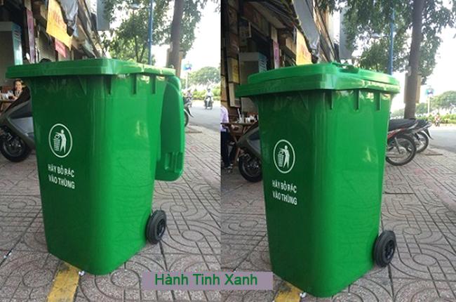thùng rác tại quận tân bình