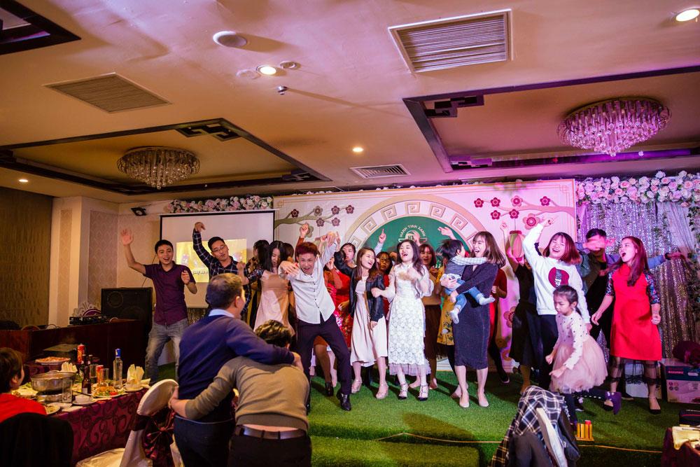 Tiệc tất niên nhân viên Hành Tinh Xanh 2017