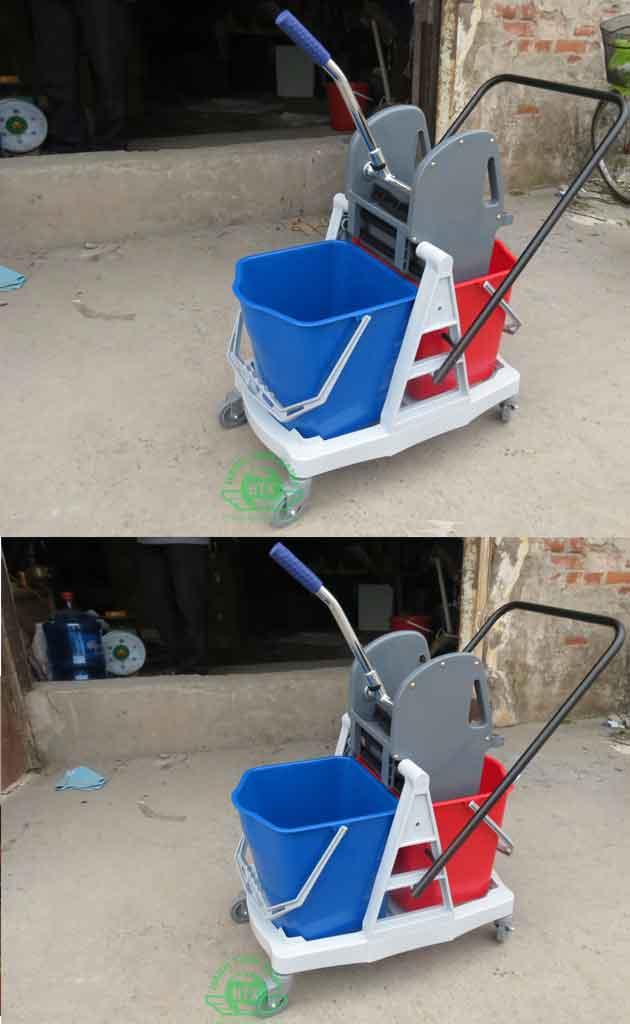 Xe vắt nước lau nhà đôi 34 lít