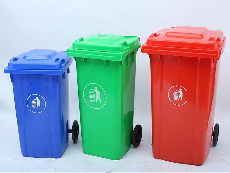 Ý nghĩa của màu sắc thùng rác