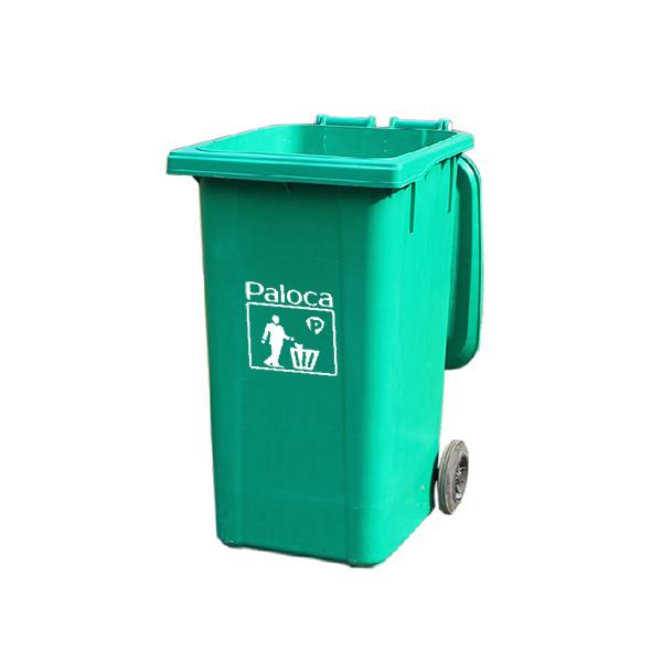 Thùng rác nhựa composite 240 lít Paloca