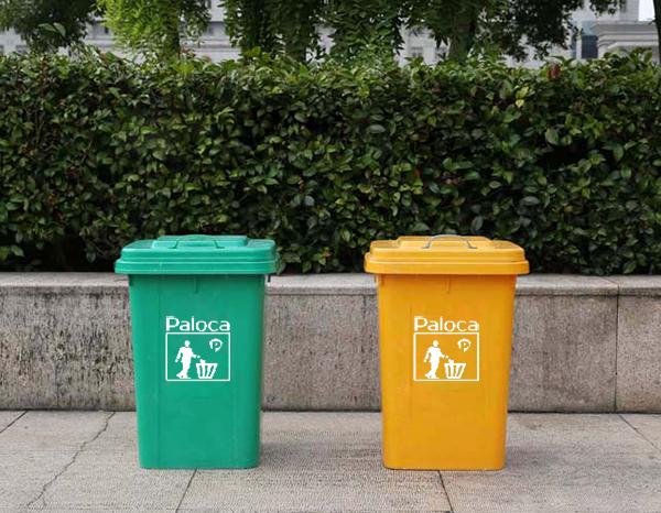 Thùng rác nhựa composite 60 lít