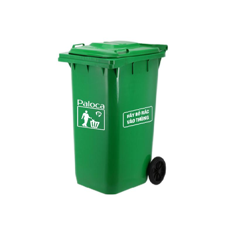 Thùng rác nhựa HDPE 240 lít Paloca