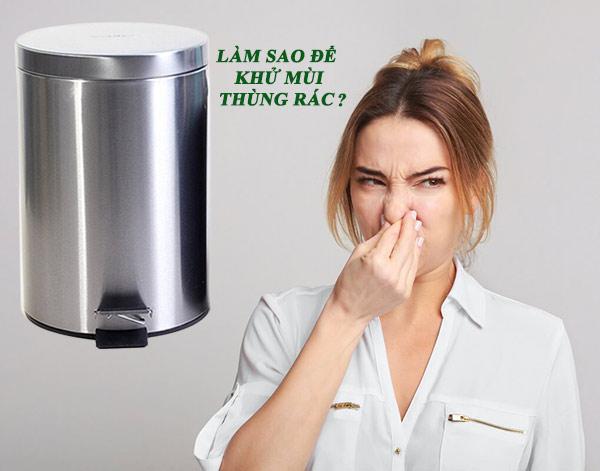 5 cách khử mùi hôi thùng rác inox hiệu quả tức thì