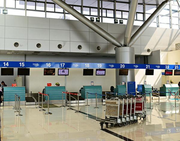 Dự án cung cấp cột chắn Inox cho 3 cảng hàng không hàng đầu Việt Nam