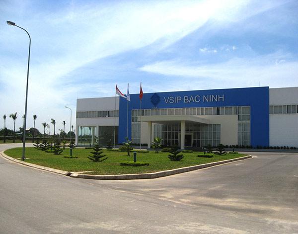 Dự án cung cấp cột chắn phân làn lối đi tại Vsip Bắc Ninh