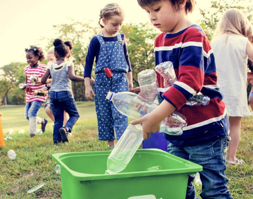 Giáo dục về ý thức môi trường ngay khi trẻ còn nhỏ