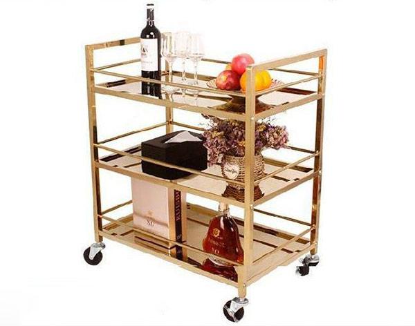 Hướng dẫn lắp đặt xe đẩy rượu inox kiểu đơn giản nhất