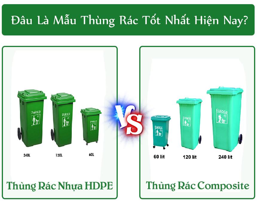 Đâu là loại thùng rác nhựa tốt nhất hiện nay