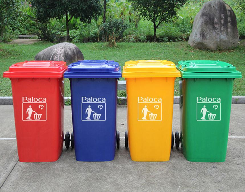 Lựa chọn thùng rác cho khu du lịch