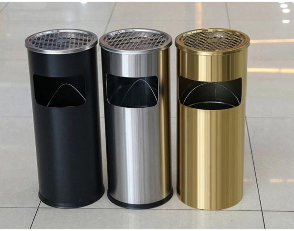 Tổng hợp mẫu thùng rác gạt tàn được ưa chuộng hiện nay