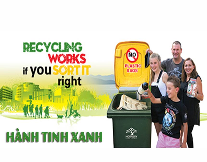 Bật mí cách sử dụng thùng rác công cộng đúng cách