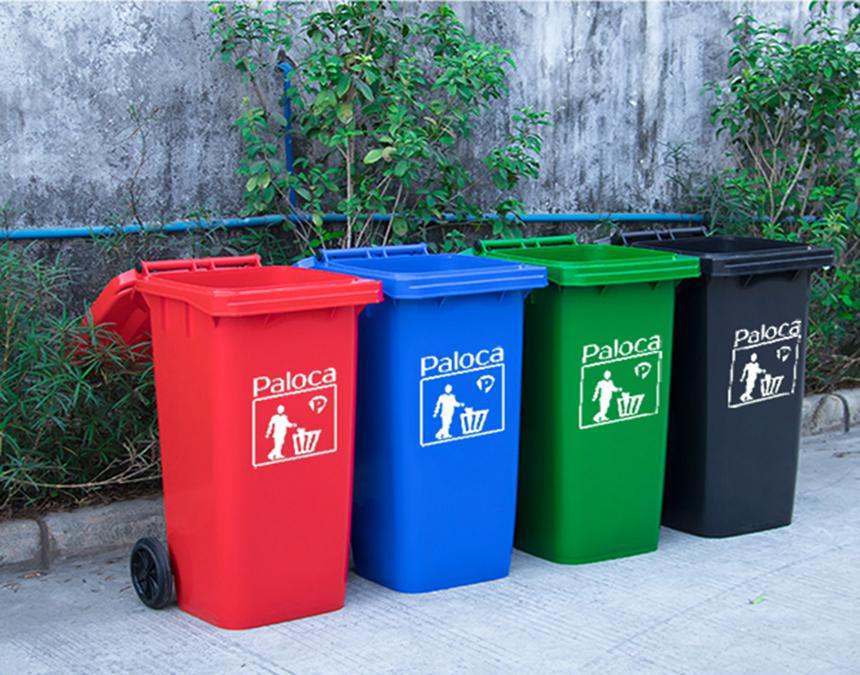 Thùng rác nhựa 240 lít có ưu điểm gì?