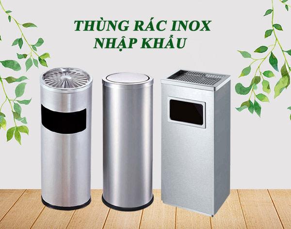 Vì sao thùng rác inox nhập khẩu bán chạy tại thị trường Việt