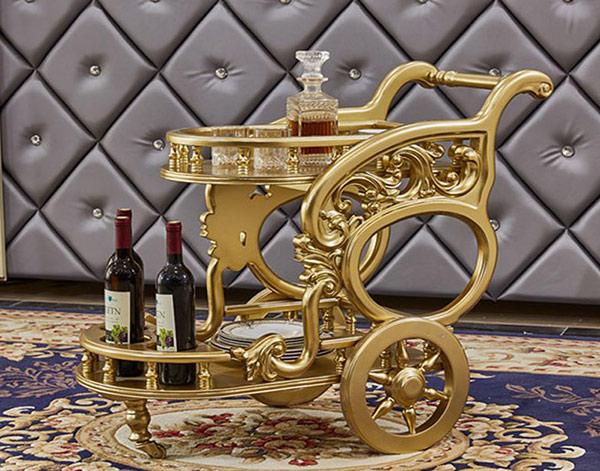 Xe đẩy rượu tân cổ điển có gì đặc biệt mà hút khách đến vậy?