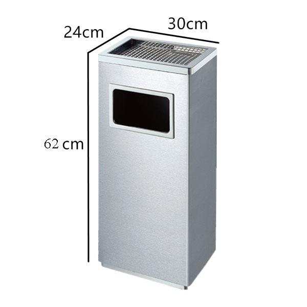Kích thước thùng rác inox tiện dụng