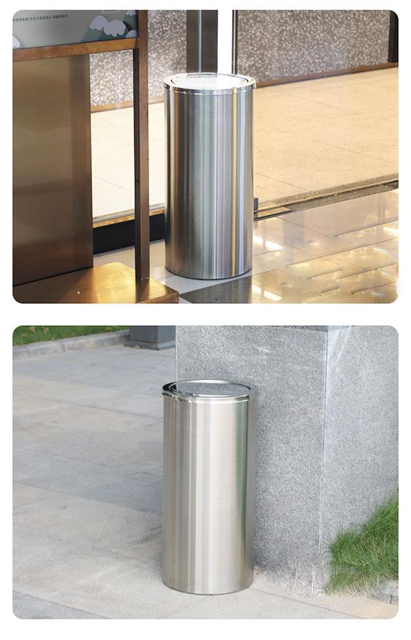 Mẫu thùng rác được sử dụng tại nhiều không gian