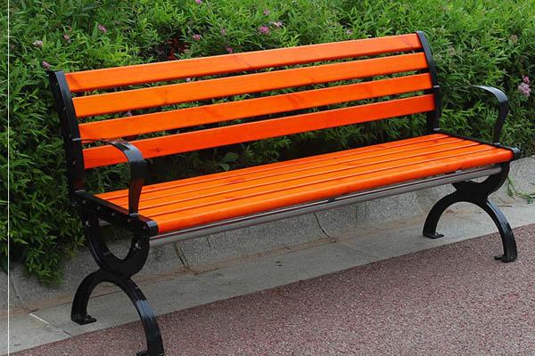 Hình ảnh ghế gỗ công viên có tựa 1.5m