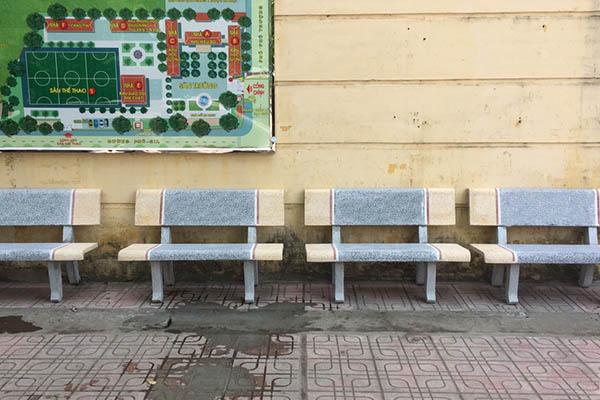 Ghế có thể chịu trọng lượng của 3-5 người hoặc nhiều hơn