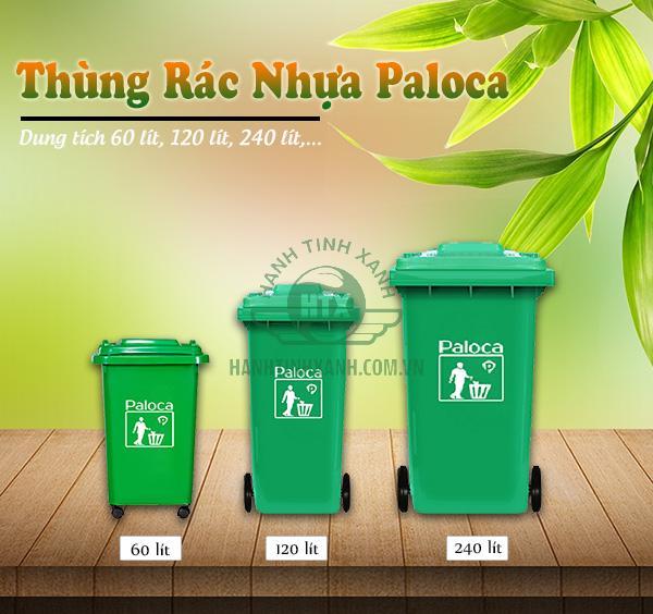 Quy trình sản xuất thùng rác nhựa tại Hành Tinh Xanh