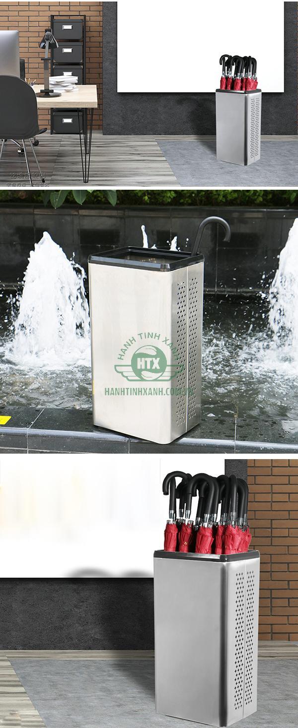 Mẫu thùng đựng dù Inox 201 được bán tại Hành Tinh Xanh