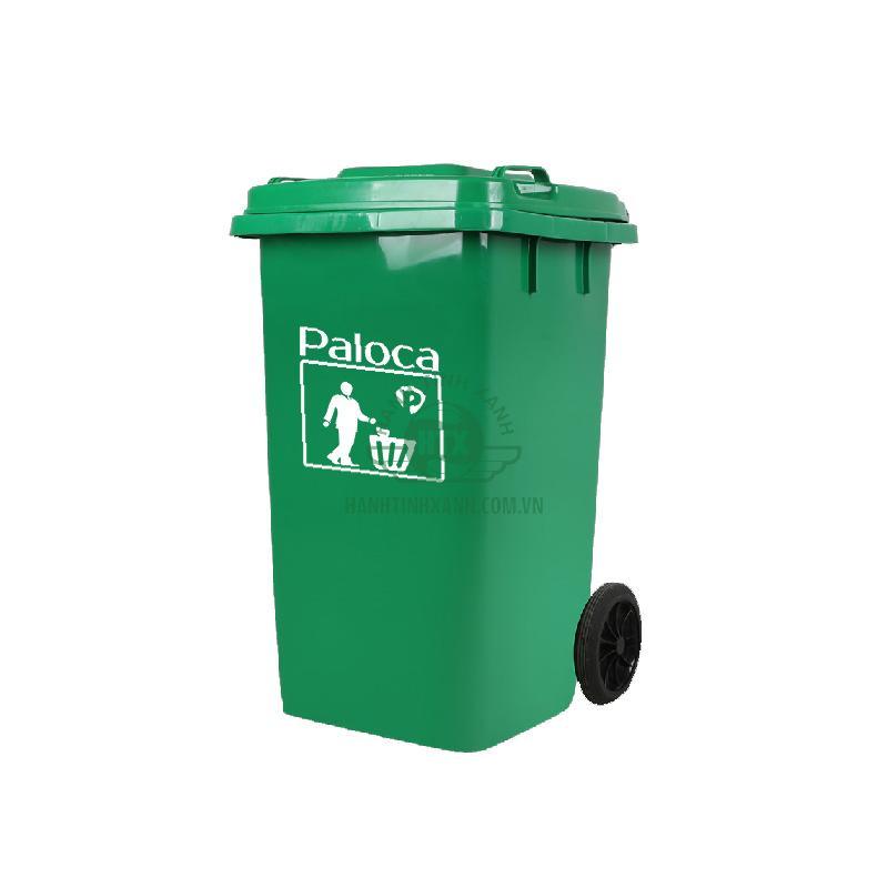 Thùng rác 240 lít thương hiệu Paloca