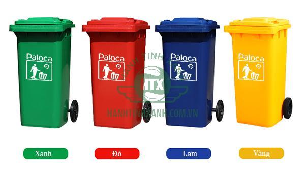 Thùng rác 240 lít Paloca