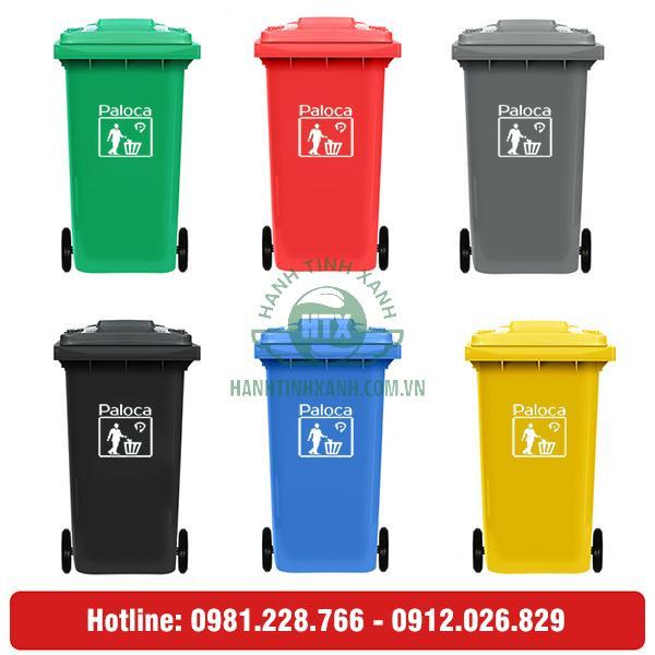 thùng rác công cộng 120l