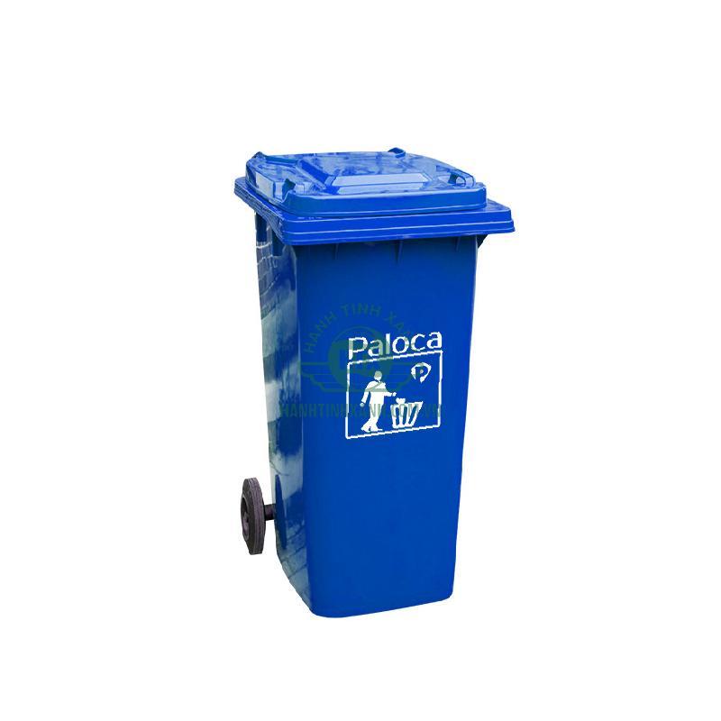 Thùng rác công nghiệp 120 lít Paloca