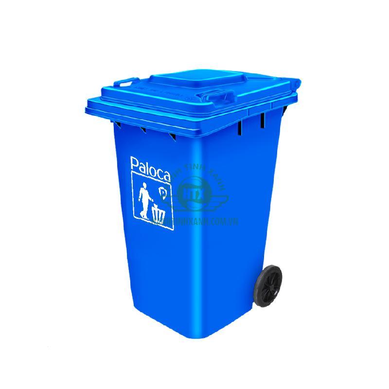 Thùng rác công nghiệp 240 lít Paloca
