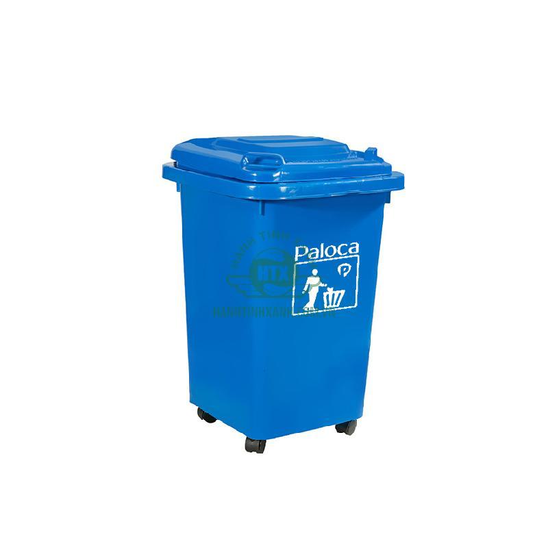 Thùng rác công nghiệp 60 lít Paloca