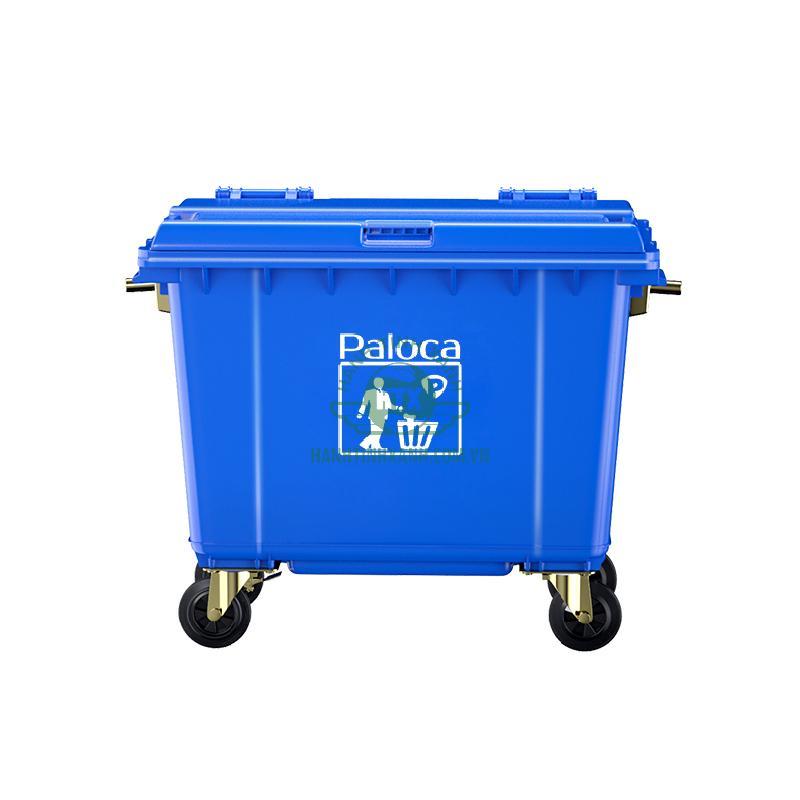 Thùng rác công nghiệp 660 lít Paloca