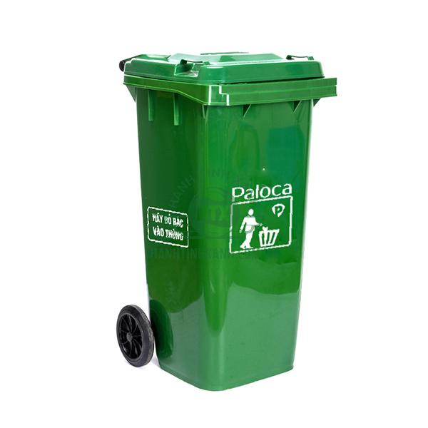 THùng rác nhựa HDPE 120 lít Paloca