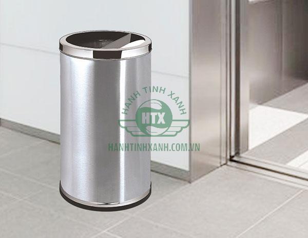 Mẫu thùng rác tiện ích được nhiều nơi sử dụng
