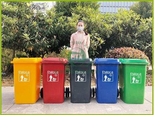 Thùng rác nhựa 240 lít thương hiệu Paloca