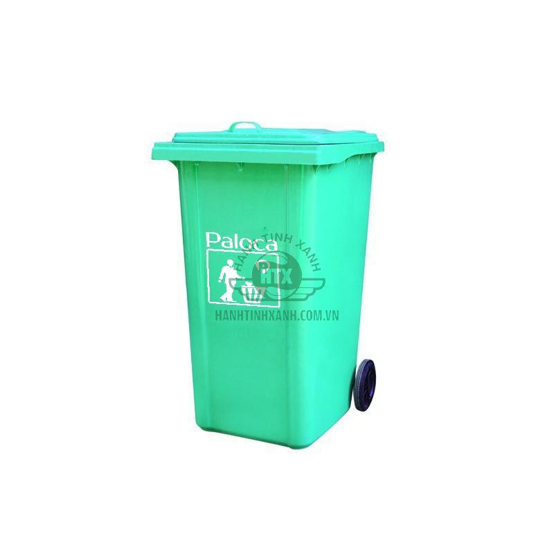Thùng rác nhựa composite 120 lít Paloca