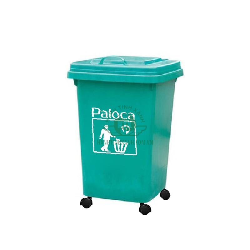 Thùng rác nhựa composite 60 lít Paloca