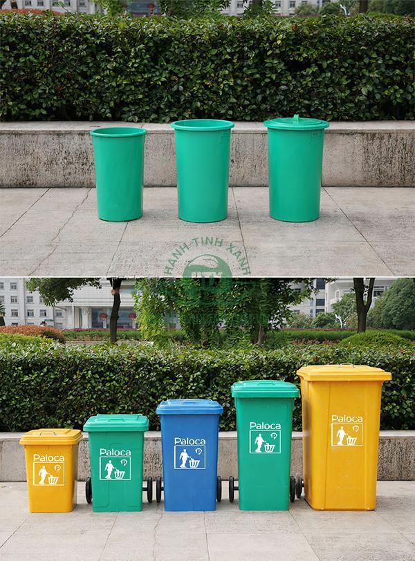 Thùng rác nhựa composite thương hiệu Paloca