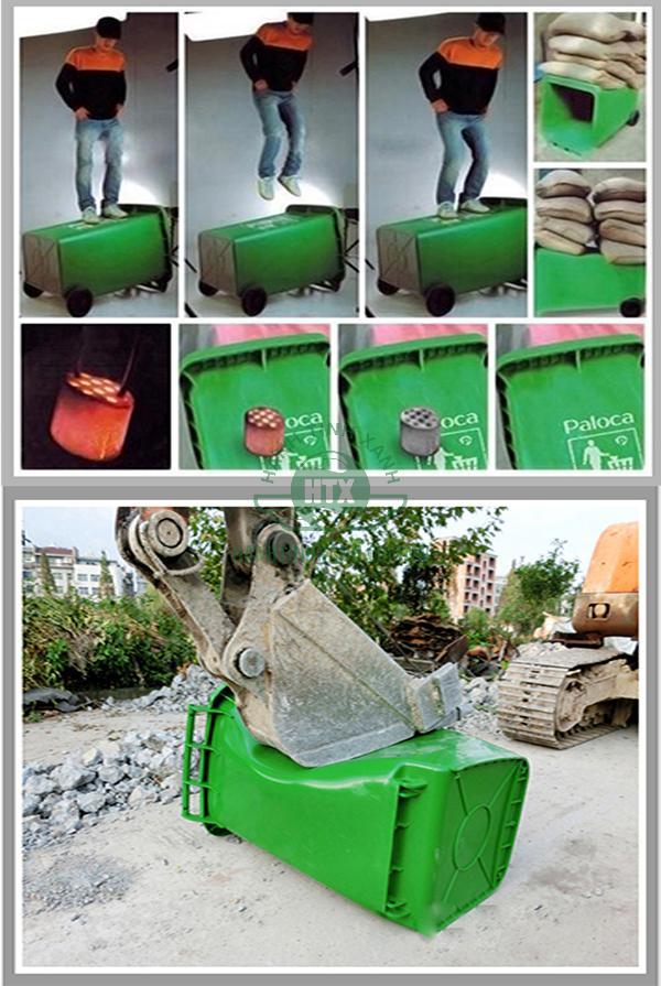 Đặc điểm nổi bật của thùng rác nhựa composite thương hiệu Paloca