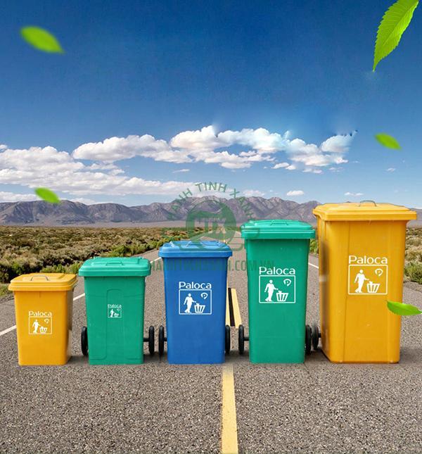 Báo giá thùng rác composite Paloca