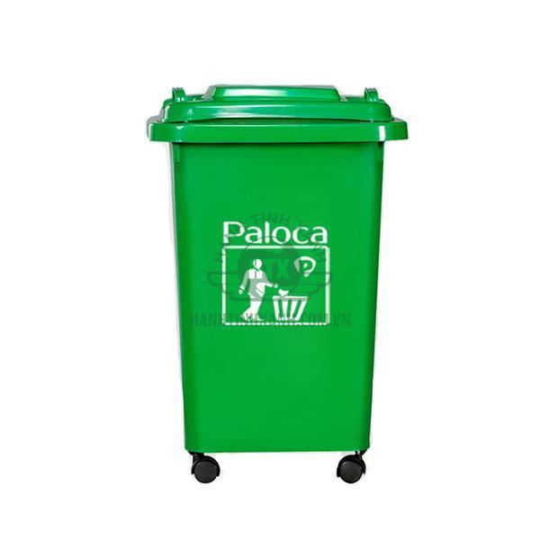 Thùng rác HDPE 60 lít Paloca