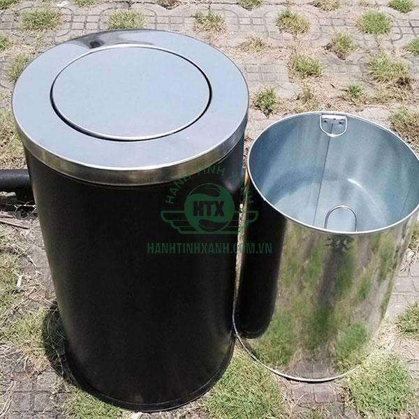 Mẫu thùng rác dễ dàng sử dụng và vệ sinh