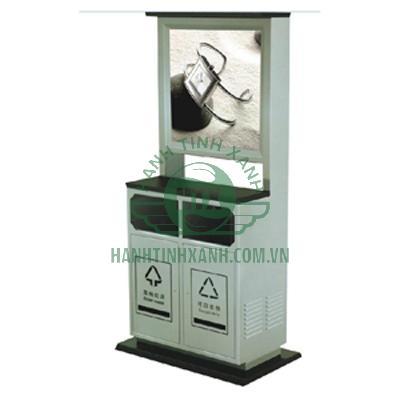 thùng rác quảng cáo PG D-X0018