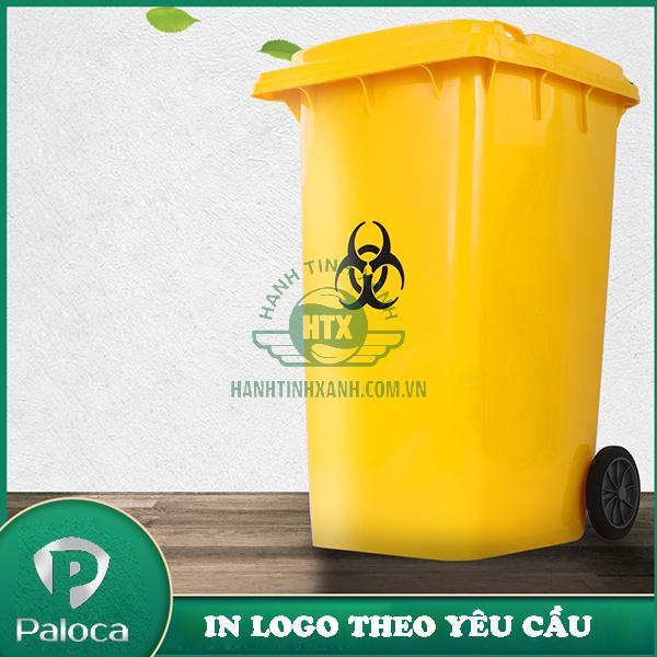 Thùng rác y tế 240l Paloca